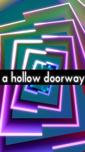 A hollow doorway