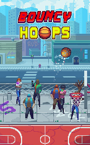 Download Bouncy hoops für Android kostenlos.