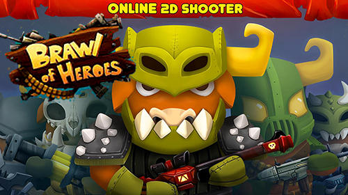 Download Brawl of heroes: Online 2D shooter für Android kostenlos.