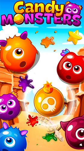 Download Candy monsters match 3 für Android kostenlos.