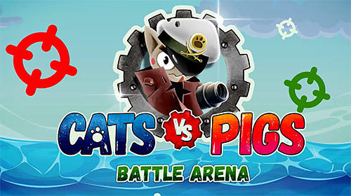 Download Cats vs pigs: Battle arena für Android kostenlos.