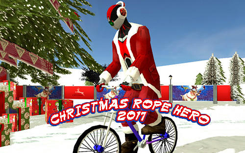 Download Christmas rope hero 2017 für Android kostenlos.