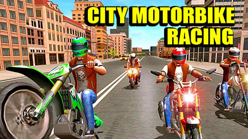 Download City motorbike racing für Android 4.1 kostenlos.