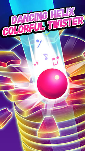 Download Dancing helix: Colorful twister für Android kostenlos.