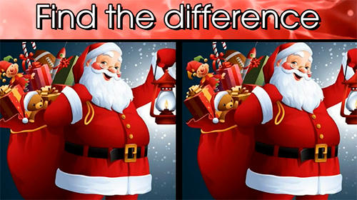 Download Find the difference Christmas: Spot it für Android kostenlos.