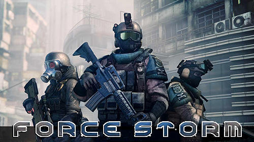 Download Force storm: FPS shooting party für Android kostenlos.