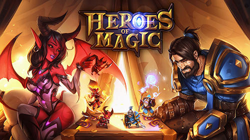 Download Heroes of magic: Card battle RPG für Android kostenlos.