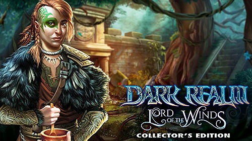 Download Hidden object. Dark realm: Lord of the winds. Collector's edition für Android kostenlos.