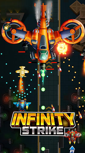 Download Infinity strike: Space shooting idle chicken für Android kostenlos.