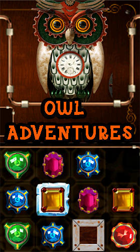 Download Owl adventures: Match 3 für Android kostenlos.