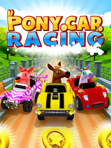 Download Pony craft unicorn car racing: Pony care girls für Android kostenlos.
