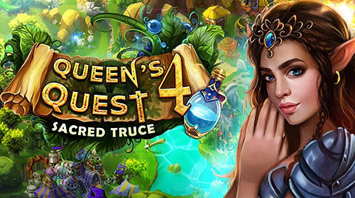 Download Queen's quest 4: Sacred truce für Android kostenlos.