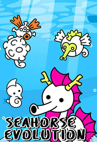 Download Seahorse evolution: Merge and create sea monsters für Android kostenlos.
