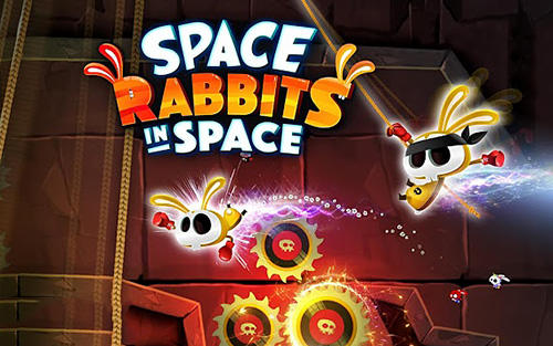 Download Space rabbits in space für Android kostenlos.