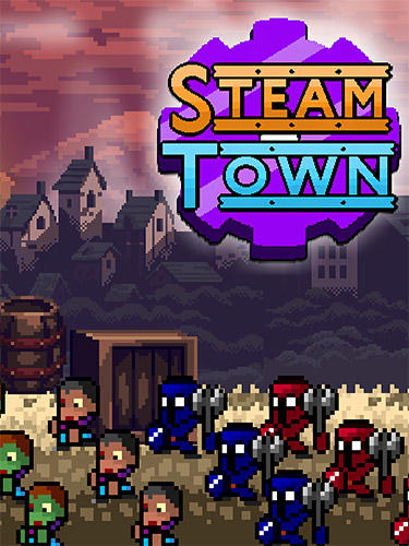 Download Steam town inc. Zombies and shelters. Steampunk RPG für Android kostenlos.