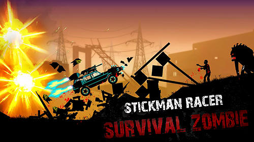 Download Stickman racer: Survival zombie für Android kostenlos.
