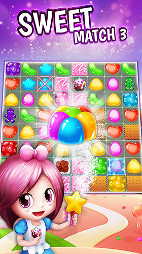 Download Sweet match 3 für Android kostenlos.