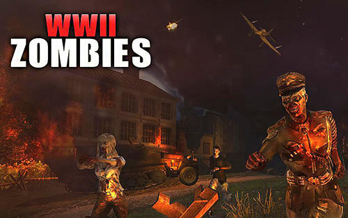 Download WW2 Zombies survival : World war horror story für Android kostenlos.