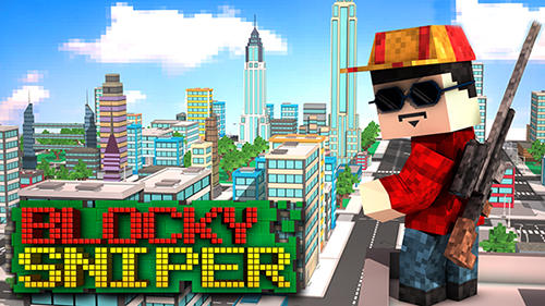 Download Blocky city sniper 3D für Android kostenlos.