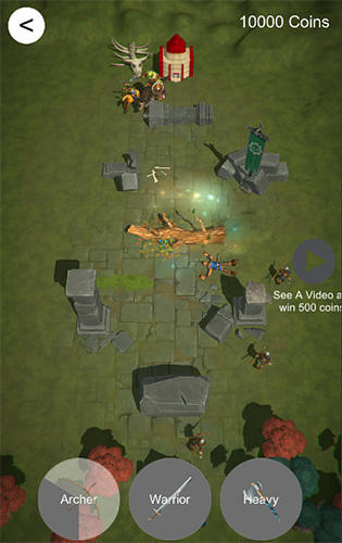 Conquest: Mini crusade and military strategy game