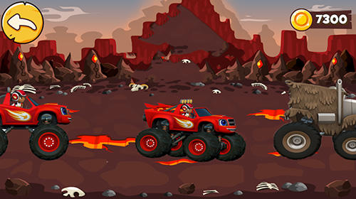 Blaze and the monster machines: A racing challenge