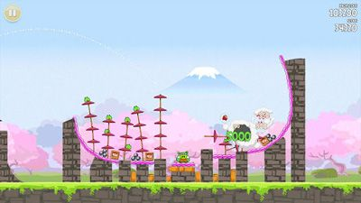Download Angry Birds Seasons: Cherry Blossom Festival12 für Android kostenlos.