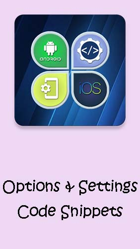 Options & Settings code snippets: Android & iOS