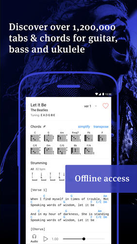 Ultimate Guitar: Tabs and Chords