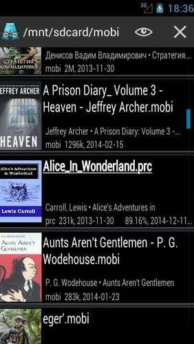 AlReader - Any text book reader