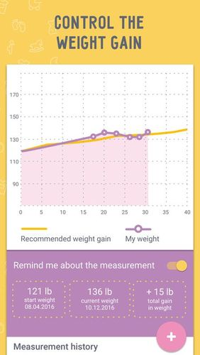 Pregnancy calculator and tracker app