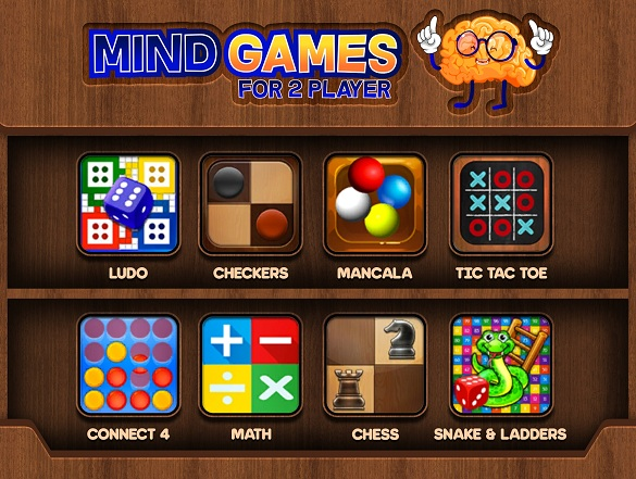 Download Mind Games for 2 Player für Android 4.1 kostenlos.