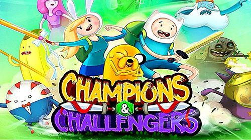 Download Adventure time: Champions and challengers für iPhone kostenlos.
