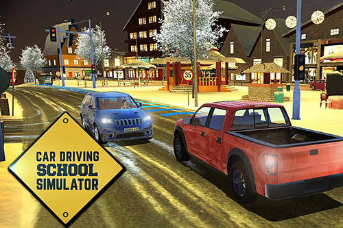 Download Car driving school simulator für iPhone kostenlos.