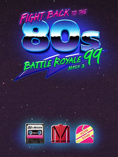 Download Fight back to the 80's: Match 3 battle royale für iPhone kostenlos.