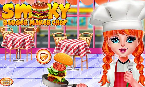 Download Smoky burger maker chef für iPhone kostenlos.