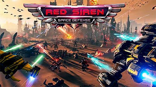 Download Red siren: Space defense für iPhone kostenlos.
