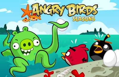 Angry Birds Seasons: Water adventures