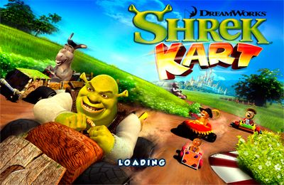 Download Shrek Kart für iPhone kostenlos.