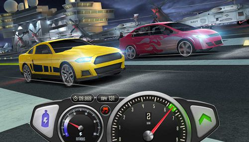 Top speed: Drag and fast racing