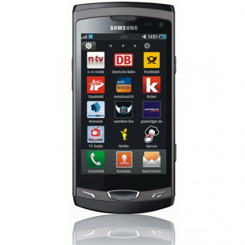 Download Samsung Wave 2 Live Wallpaper kostenlos.