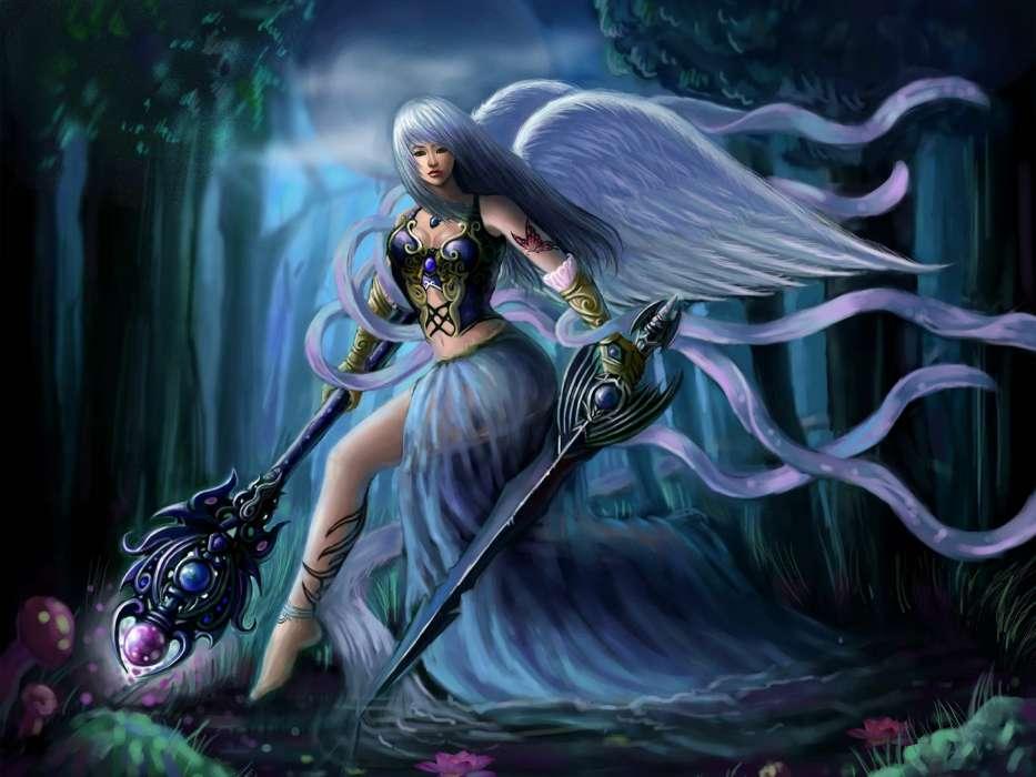 Bild Fürs Handy Kostenlos Herunterladen Angels Girls Fantasy