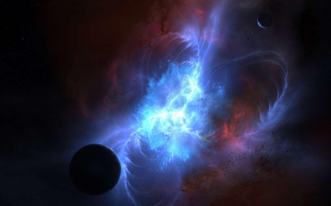 Bild Fürs Handy Kostenlos Herunterladen Fantasy Planets