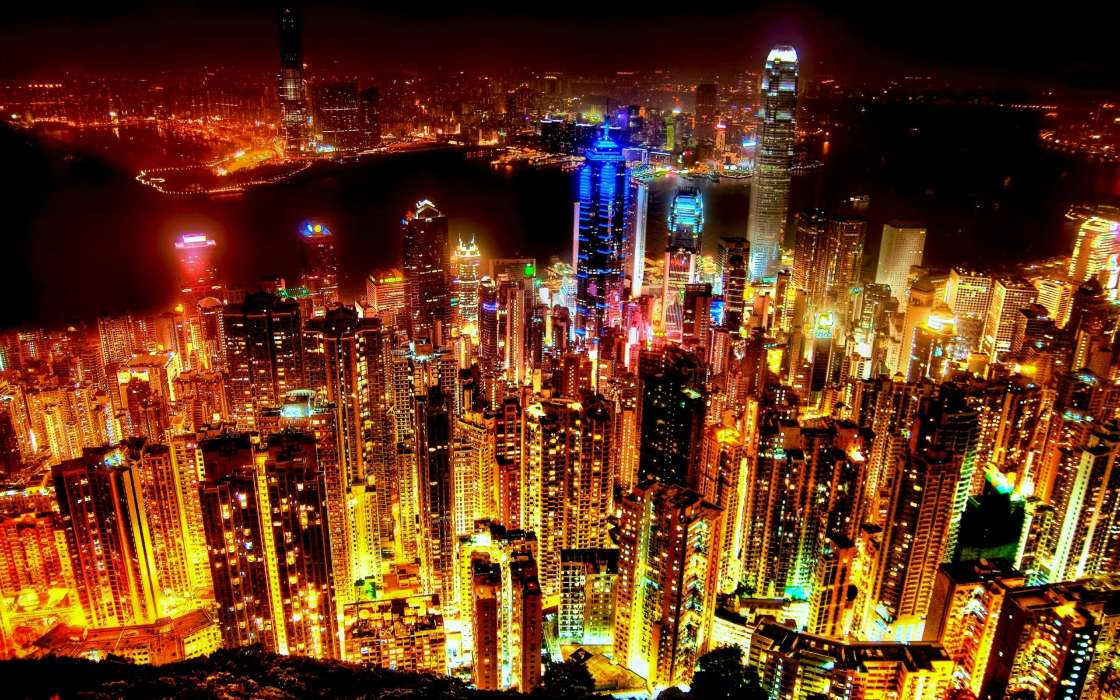 Cities,Night,Landscape