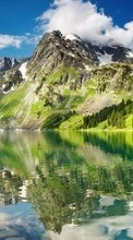 Mountains,Lakes,Landscape,Nature