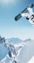 Mountains,Landscape,Snow,Snowboarding,Sports