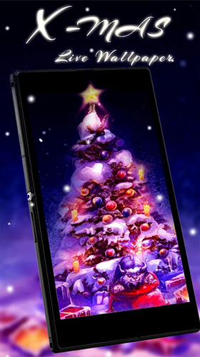 Kostenlos Live Wallpaper Christmas tree by Live Wallpaper Workshop für Android Smartphones und Tablets downloaden.