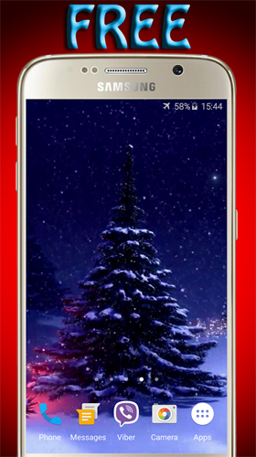 Download Feiertage Live Wallpaper Christmas tree by Pro LWP für Android kostenlos.