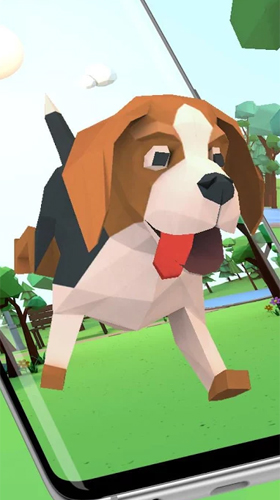 Kostenlos Live Wallpaper Cute puppy 3D für Android Smartphones und Tablets downloaden.