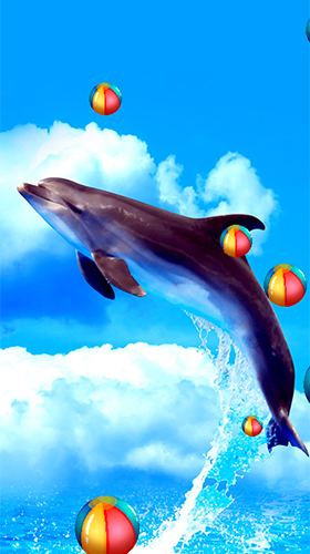 Download Interaktiv Live Wallpaper Dolphins by Latest Live Wallpapers für Android kostenlos.
