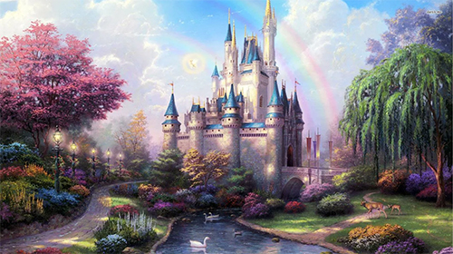 Download Landschaft Live Wallpaper Fairy tale by Amazing Live Wallpaperss für Android kostenlos.